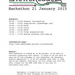 Amsterdam Hackathon Programme [January 21 2015]