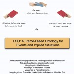 ESO: A Frame-Based Ontology for Events and Implied Situations [Poster at CLIN25]